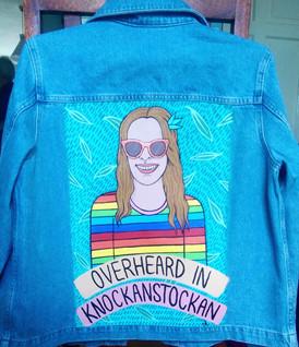 """""""Overheard In Knockanstockan Jacket"""""""