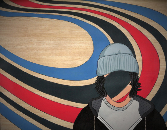 """Elliott Smith Portrait"""