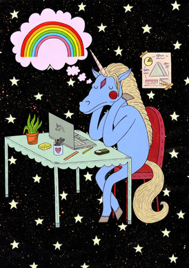 """Even Unicorns Have Dreams Too"""