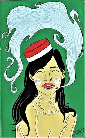 """""""Cigarette Girl"""""""