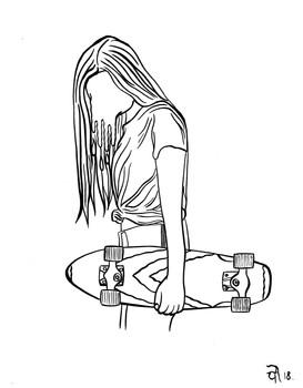 """""""Skate Girl"""""""