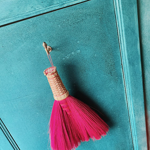 The Pink Sweeping Brush