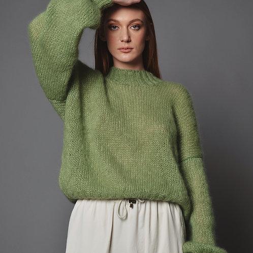 Green Mohair Sweater