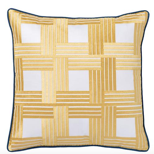 New York Pillow Yellow