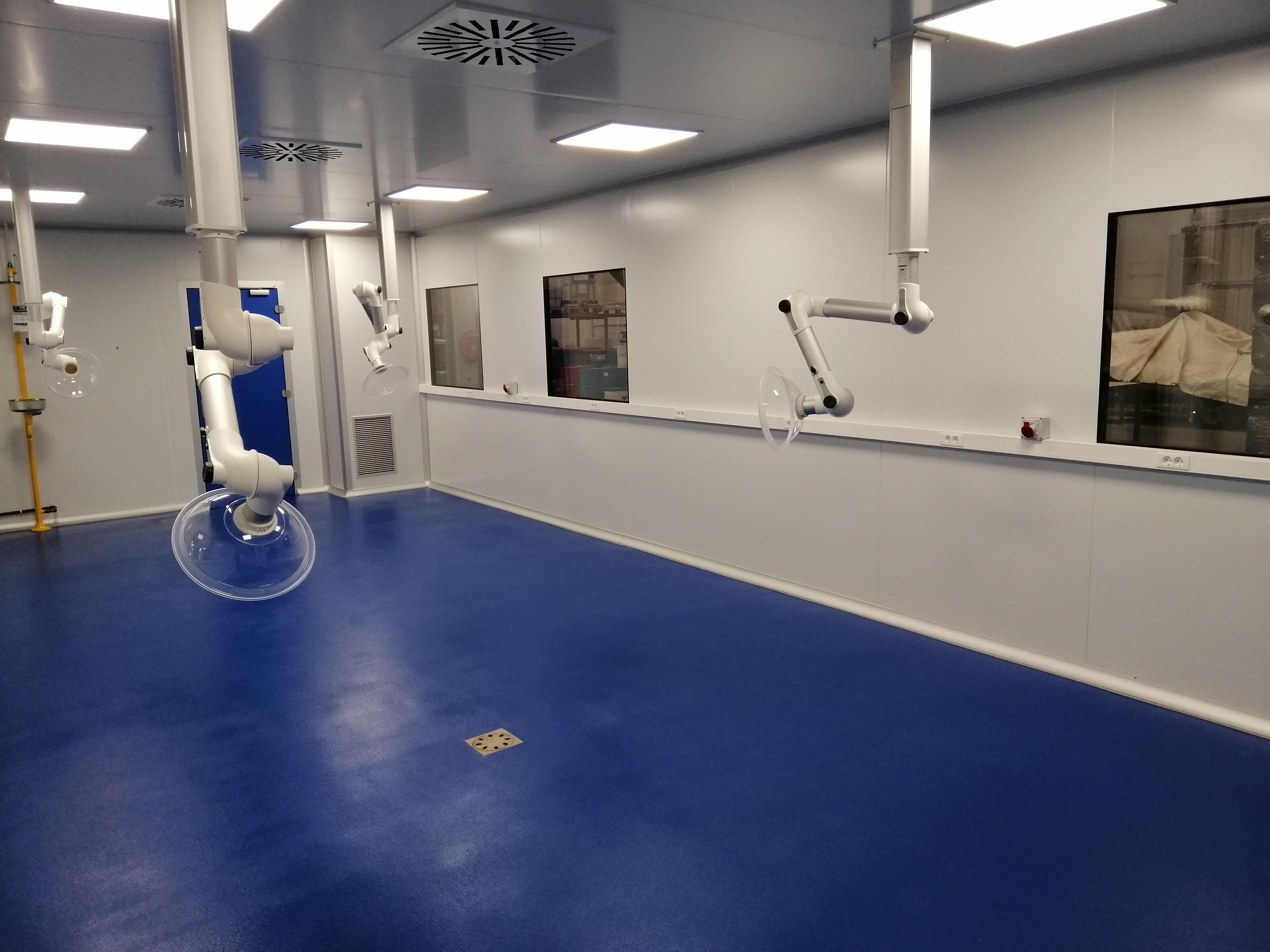 Clean-room Pilot Plant 2