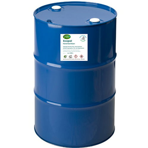 Ecopol Hand Sanitizer - Drum 200 L