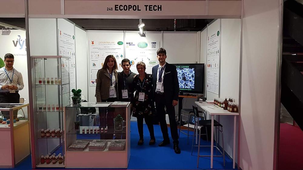 Ecopol Tech Cosmetorium stand front view