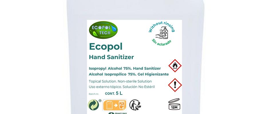 Ecopol Hand Sanitizer - 5 L