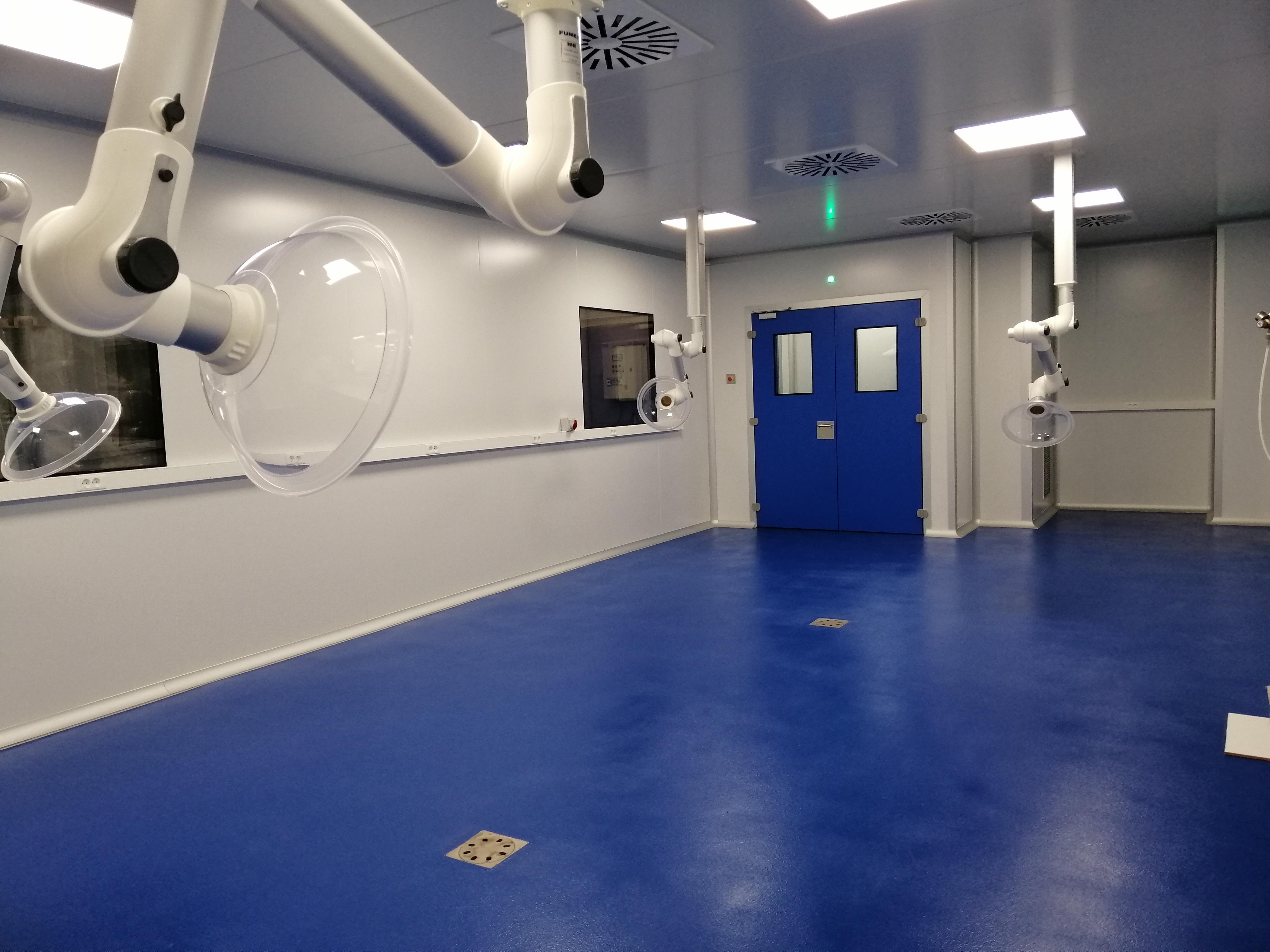 Clean-room Pilot Plant 1