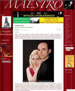 Maestro Magazine, Poland
