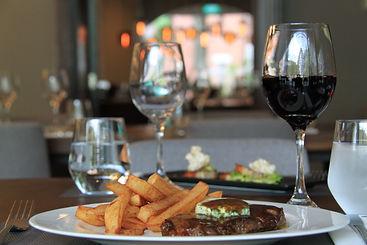 The Masons Table Steak Frites, cafe de Paris butter