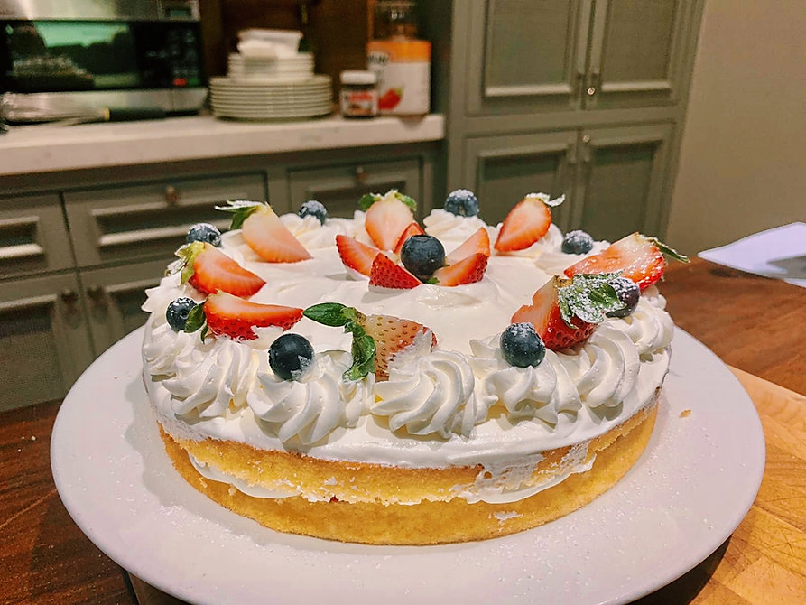 Easy Strawberry Shortcake | The Cooking Club