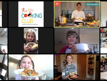 Victus Group launches online interactive cooking classes for children.
