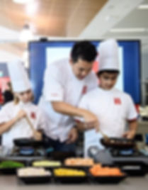 Chef Tim Ong, Camp Asia Super Chef