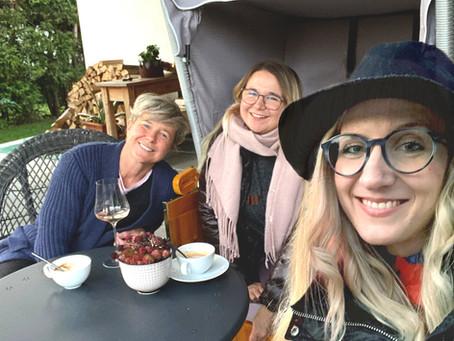 Jenni, Lisa und ich