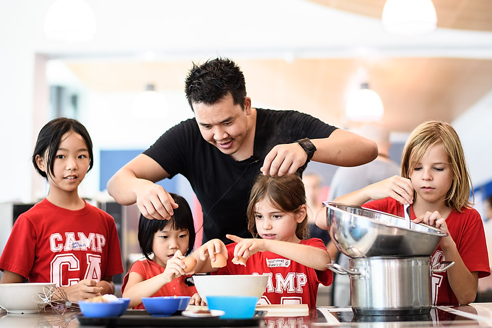Chef Tim Ong, Camp Asia Super Chef Singapore | The Cooking Club