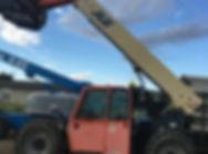 JLG G9-43A telehandler for rent, Coaldale equipment rentals, lethbridge equipment rentals, raymond equipment rentals, cardston equipment rentals, taber equipment rentals, picture butte equipment rentals, monarch equipment rentals, magrath equipment rentals, barons equipment rentals, fort macleod equipment rentals, wrentham equipment rentals, claresholm equipment rentals, nobleford equipment rentals, enchant equipment rentals, champion equipment rentals, vulcan equipment rentals, brooks equipment rentals, cat rental, bobcat rental, skid steer rental, power rake rental, forklift rental, wood chipper rental, rototiller rental, scissor lift rental, excavator rental, mini excavator rental, aerator rental, lift rental, manbasket rental, man lift rentals, equipment attachments, equipment adapters, crane jib sales, man basket sales, fork extension sales, equipment adapter sales, equipment attachment sales, snow removal, snow removal attachments, HLA snow, quick attachments, quick attach