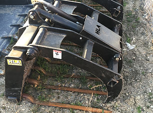 Grapple Fork for rent, cat rental, bobcat rental, skid steer rental, power rake rental, forklift rental, wood chipper rental, rototiller rental, scissor lift rental, excavator rental, mini excavator rental, aerator rental, lift rental, manbasket rental, man lift rentals, equipment attachments, equipment adapters, crane jib sales, man basket sales, fork extension sales, equipment adapter sales, equipment attachment sales, snow removal, snow removal attachments, HLA snow, quick attachments, quick attach, skid steer attachment, loader attachment, loader adapters, skid steer adapter sales