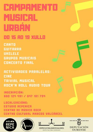 Campamento Musical Urbano