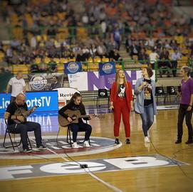 Actuación Partido COB vs Oviedo