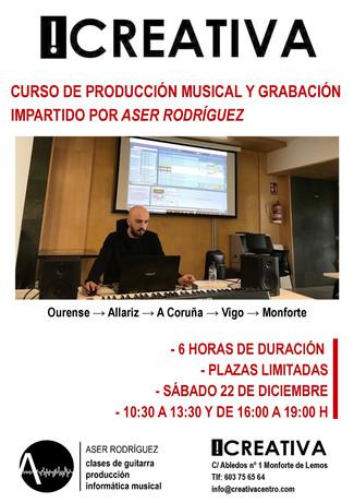 Cursos de Producción en Monforte