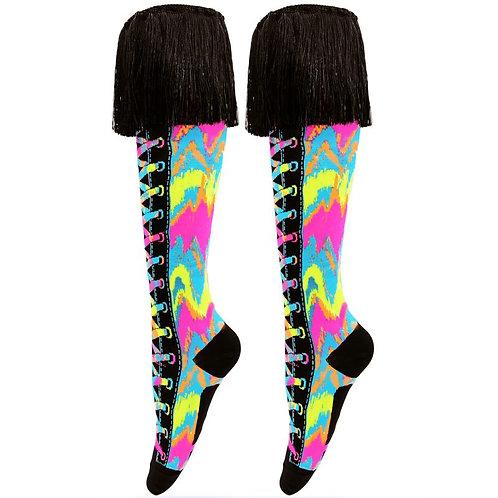 Mad Mia Rainbow Tie Dye Socks