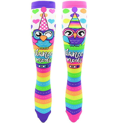 Mad Mia Party Owl Socks