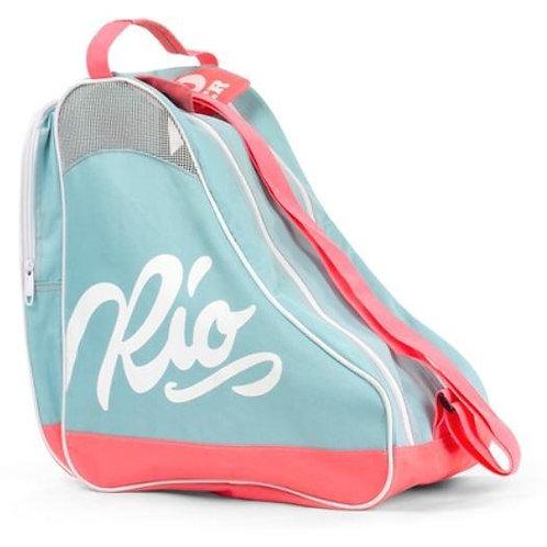 Rio Roller Script Skate Bag Teal Coral