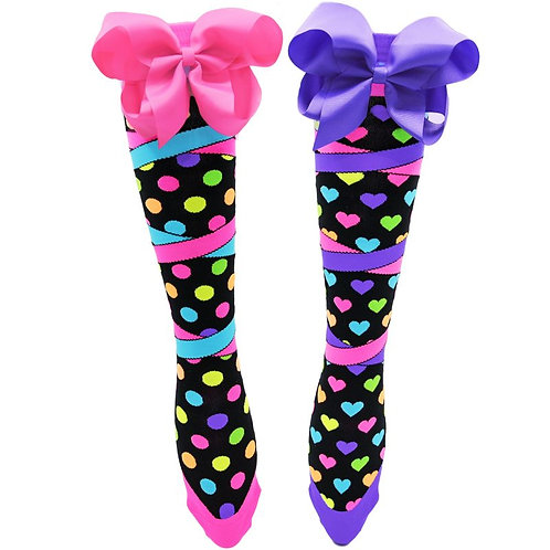 Mad Mia Bow-tiful Socks