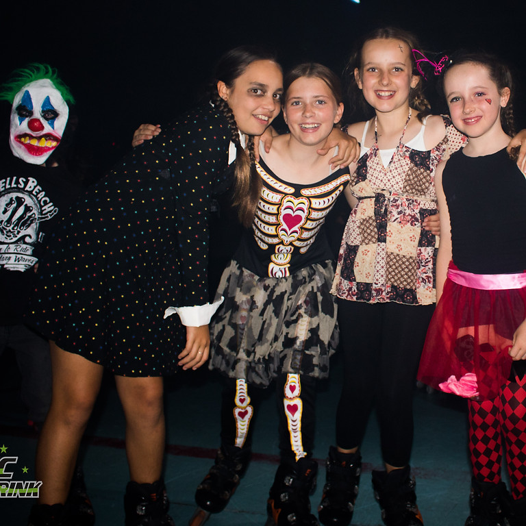 Epic Halloween Spooky Skate Saturday Night!