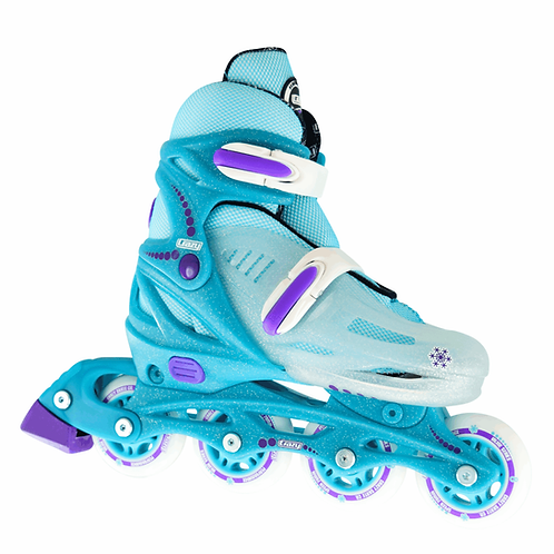 Crazy 148 Adjustable Roller Blades Teal