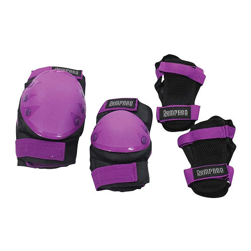 Rampage 3 Pack Protection Kit Purple