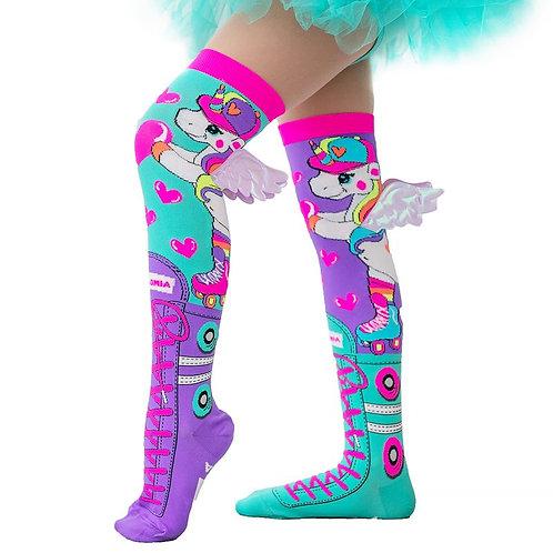 Mad Mia Skatercorn Socks w/ Wings