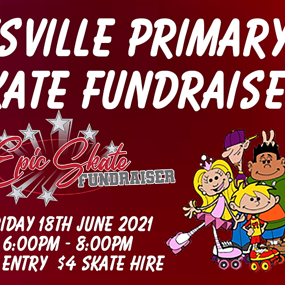 Pottsville Primary P&C Skate Fundraiser