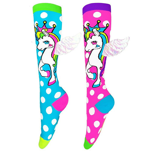 Mad Mia Flying Unicorn Socks