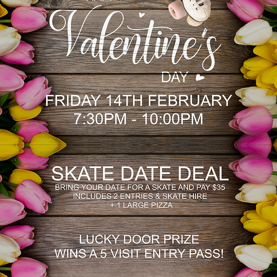 Valentines Day Skate