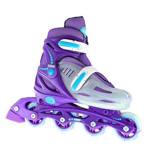 Crazy 148 Adjustable Roller Blades Purple