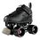 Thumbnail: Crazy Zoom Black Roller Skates