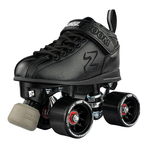 Crazy Zoom Black Roller Skates