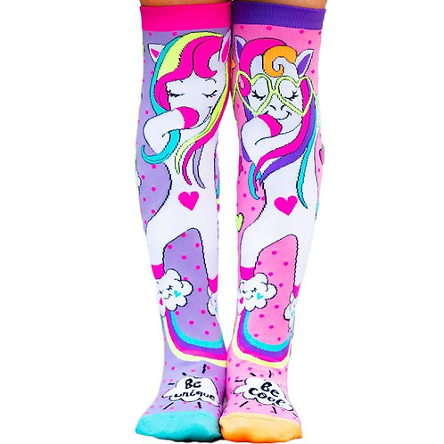 Mad Mia Dab Dance Unicorn Socks