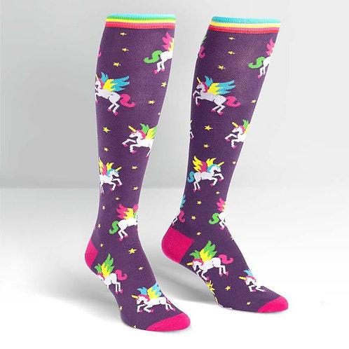 Sock it to Me Wingin It Knee High Socks