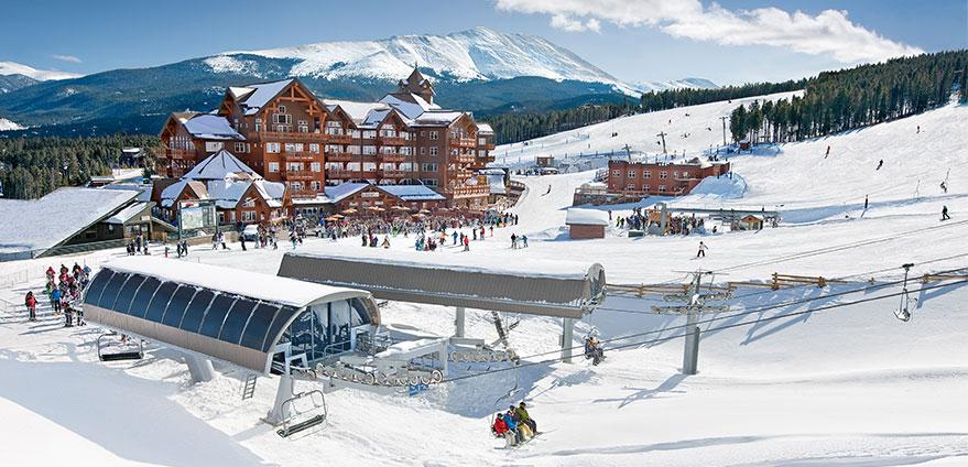 one ski hill resort