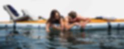 nautibuoy Inflatable Platform - relaxing