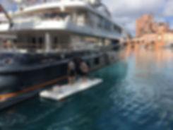 Nautibuoy Inflatable Working Dock