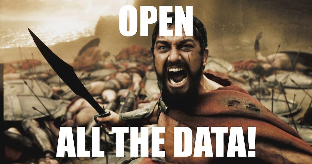 Meme: Open all the data