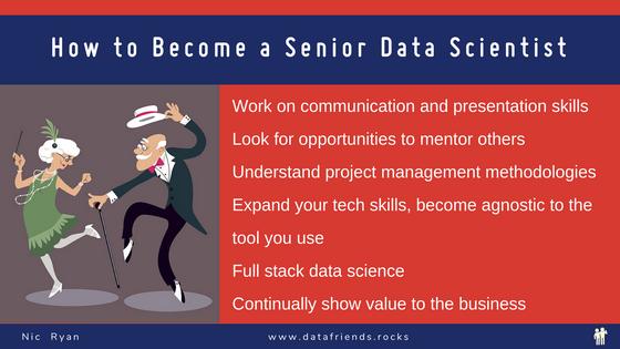 Become A Senior Data Scientist