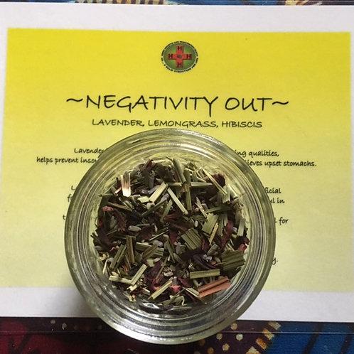 NEGATIVITY OUT TEA