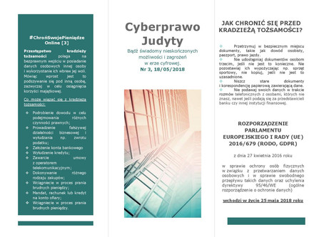 Cyberprawo Judyty, Nr 3