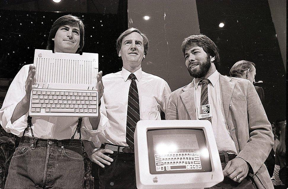 Steve Jobs John Sculley Steve Wozniak