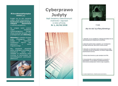Cyberprawo Judyty Nr 1